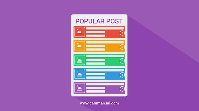 Hasil gambar untuk popular post