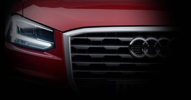 Novo Audi Q2 2017 - frente