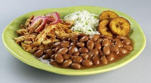 COMIDA DE PERU: Pollo Con Frijoles