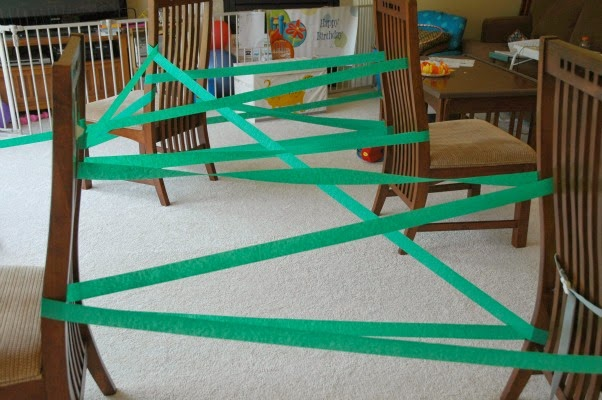jungle vine gross motor activity for preschool