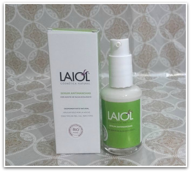 serum antimanchas laiol cosmetica natural