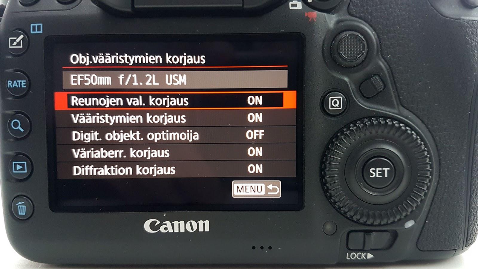 Bittimittari canon 5dm4 korjaa kuvavirheet jo kamerassa for Canon 5dm4