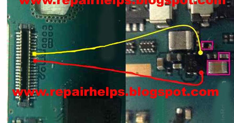 REPAIR HELPS: Samsung SM-G130 display light problem ways jumper ...