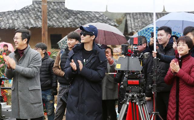 Da Jiang Da He Begins Filming Wang Kai