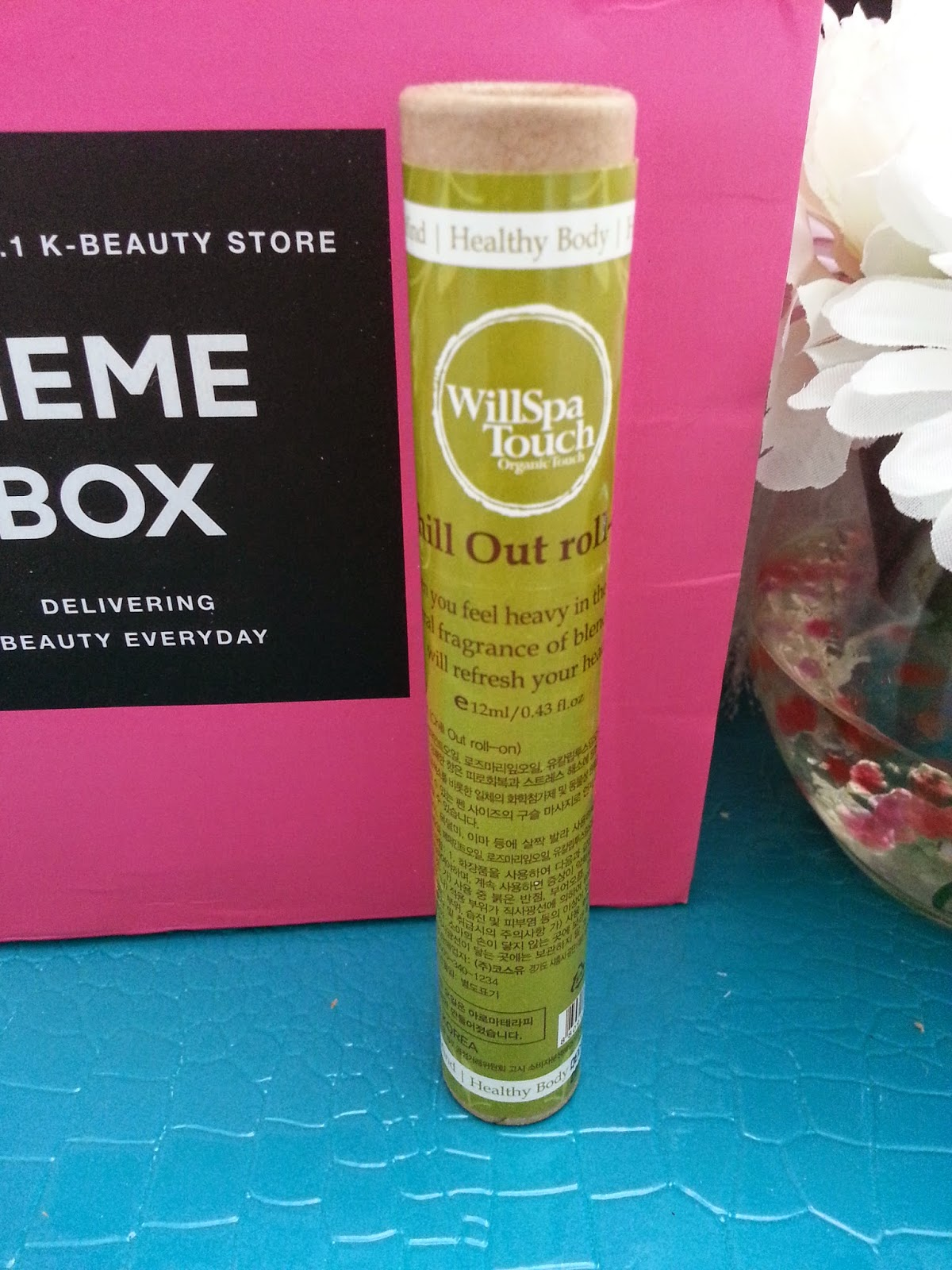 WillSpa Touch Aroma Therapy Roll-On Oil