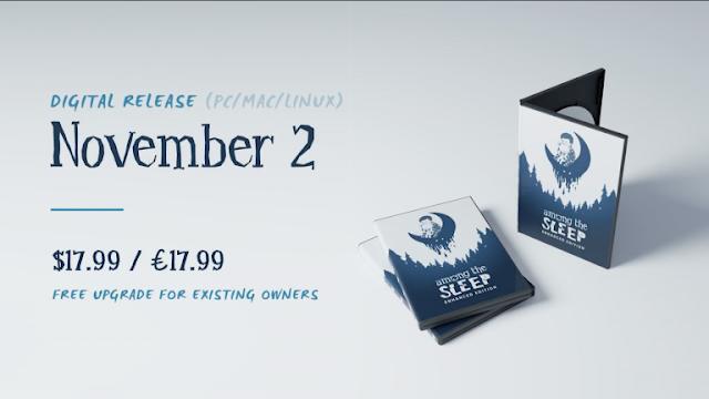 الإعلان عن نسخة متطورة للعبة Among The Sleep - Enhanced Edition قادمة في شهر نوفمبر