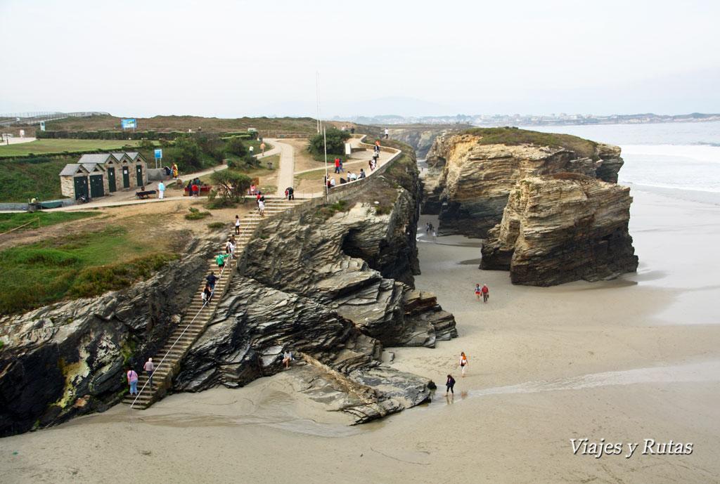 Playa de las Catedrales, Lugo