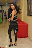 Akshida in Black Tank Top at Kalamandir Foundation 7th anniversary Celebrations ~  Actress Galleries 036.JPG