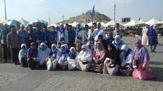 Jamaah Haji KBIH Al-Miftah Ziarahi Tempat-Tempat Bersejarah di Madinah
