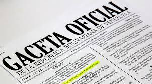 Gaceta Oficial N° 41.153 publica nombramiento de Gobernadores ante el Banco Interamericano de Desarrollo (BID)