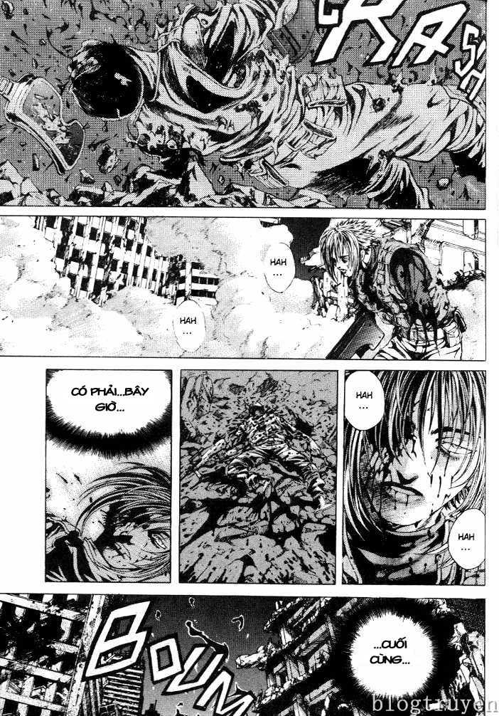 Zombie hunter chap 8 trang 57