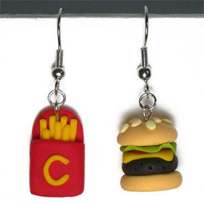 Funny Earrings for Girls and Women ~ Bollywood Hollywood ...