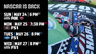 Four Days of #NASCAR Excitement