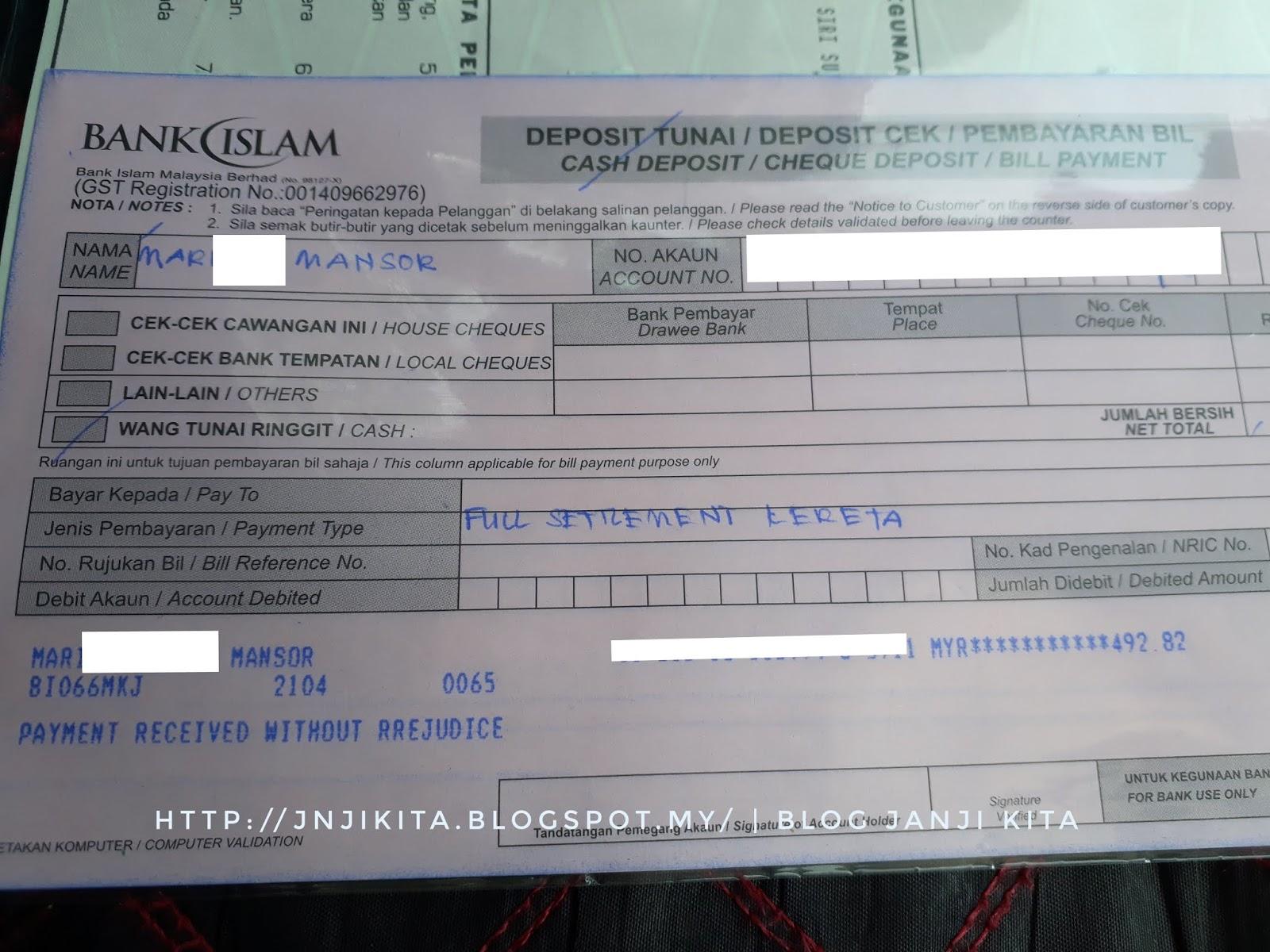 Bank Islam Loan Kereta