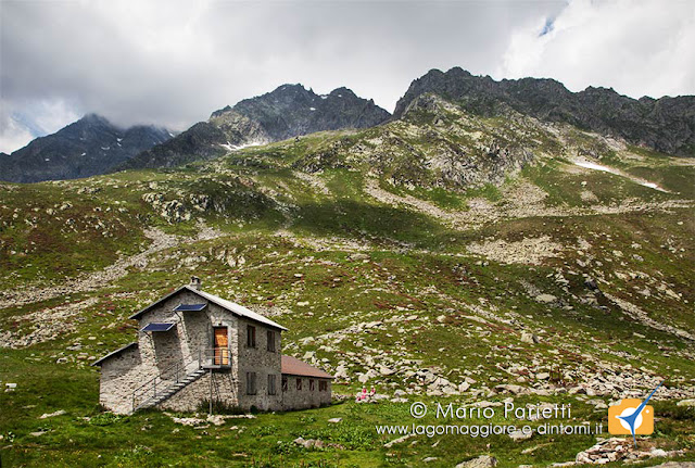 Rifugio Andolla in valle Antrona