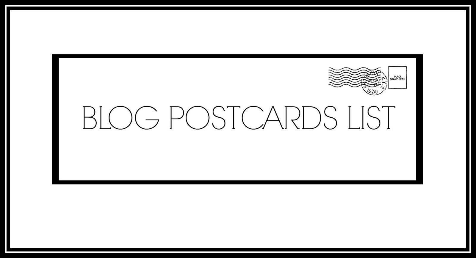 Lista Blogów Pocztówkowych