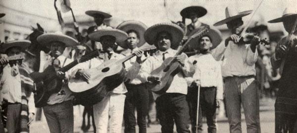 Los mariachis en Yucatán
