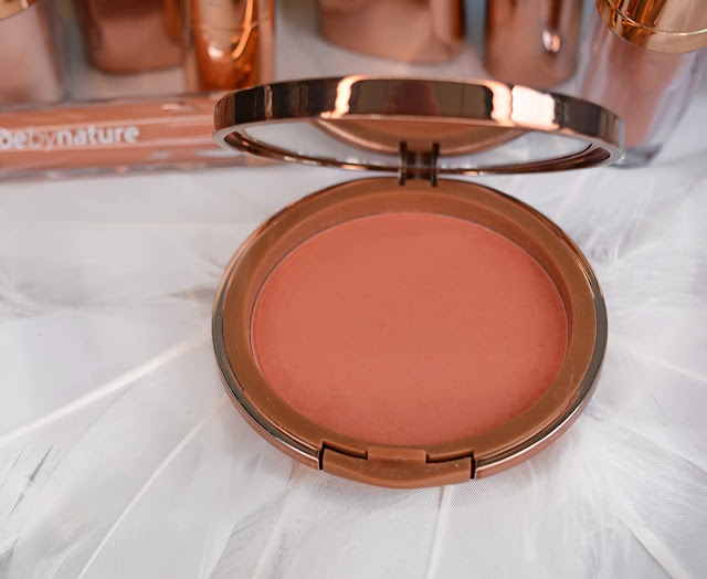 "Nude By Nature|Pressed Blush in ""Pink Lilly"""