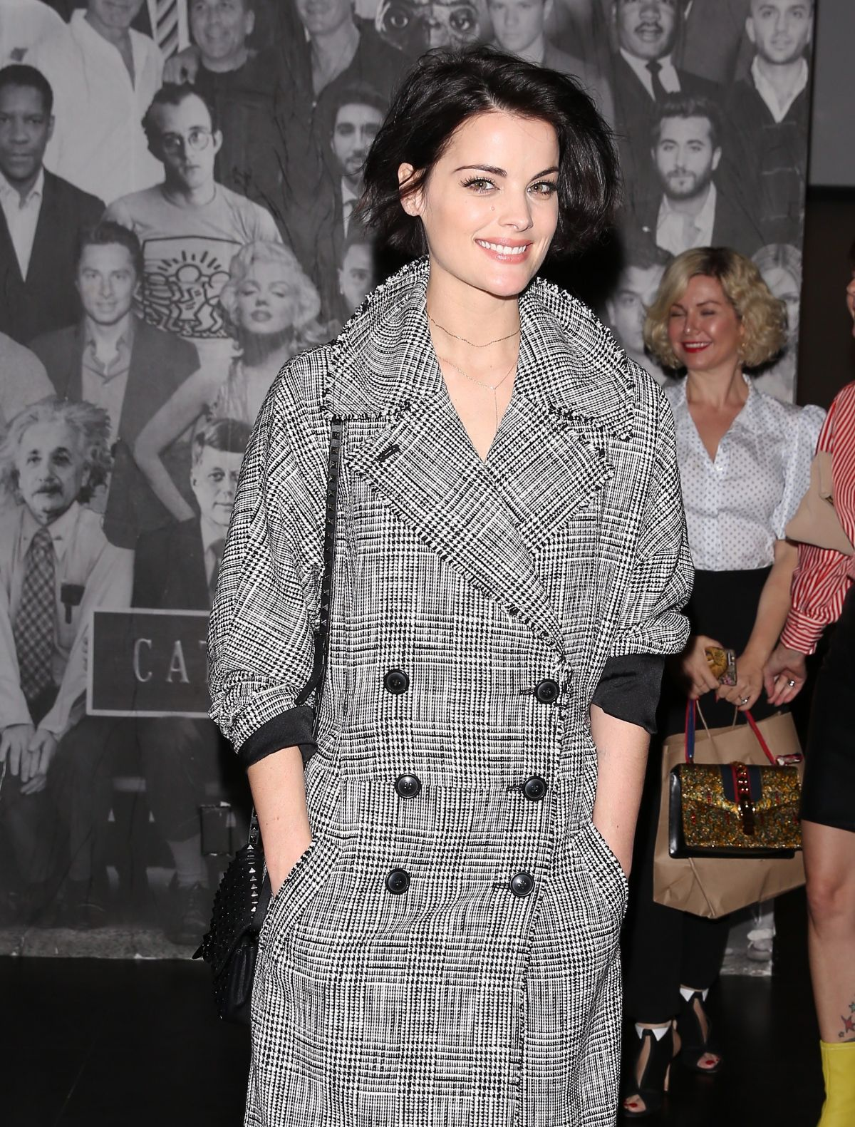 HD Wallpapers of Jaimie Alexander out for Diner at Catch LA in West Hollywood