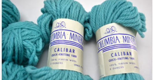 Columbia Minerva Calibar Yarn