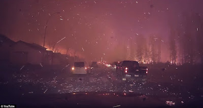 88,000 people evacuated 1,600 homes destroyed in Canadian Fire