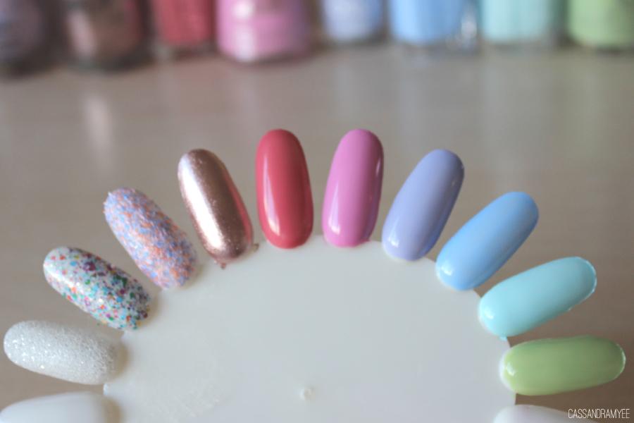 TOP 10 | Spring Nail Polish Picks | CassandraMyee | NZ Beauty Blog