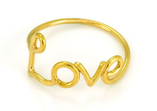 Laura Gravestock Love Ring - Jewellery Blog