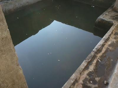 kolam di masjid bawak nao