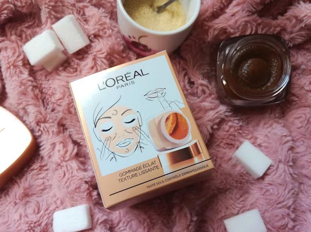 Gommage Éclat Sucres de Soin de L'Oréal