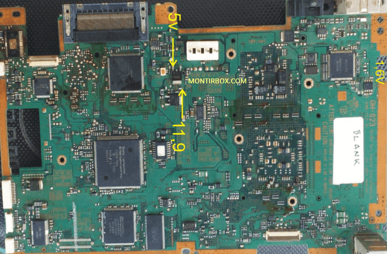 Test Point Kipas PS2 Mati Seri 50XXX GH-023