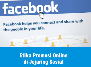 Etika Promosi Online di Jejaring Sosial