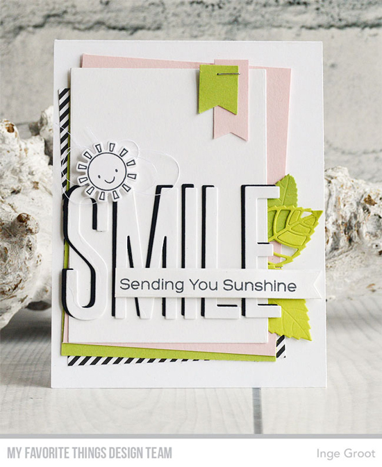 Handmade card by Inge Groot featuring products from My Favorite Things #mftstamps
