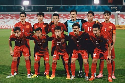 Tiến Dụng và Tiến Dũng trong màu áo tuyển U19 Việt Nam