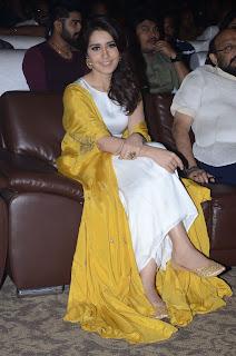 raashi khanna at balakrishnudu audio launch 16