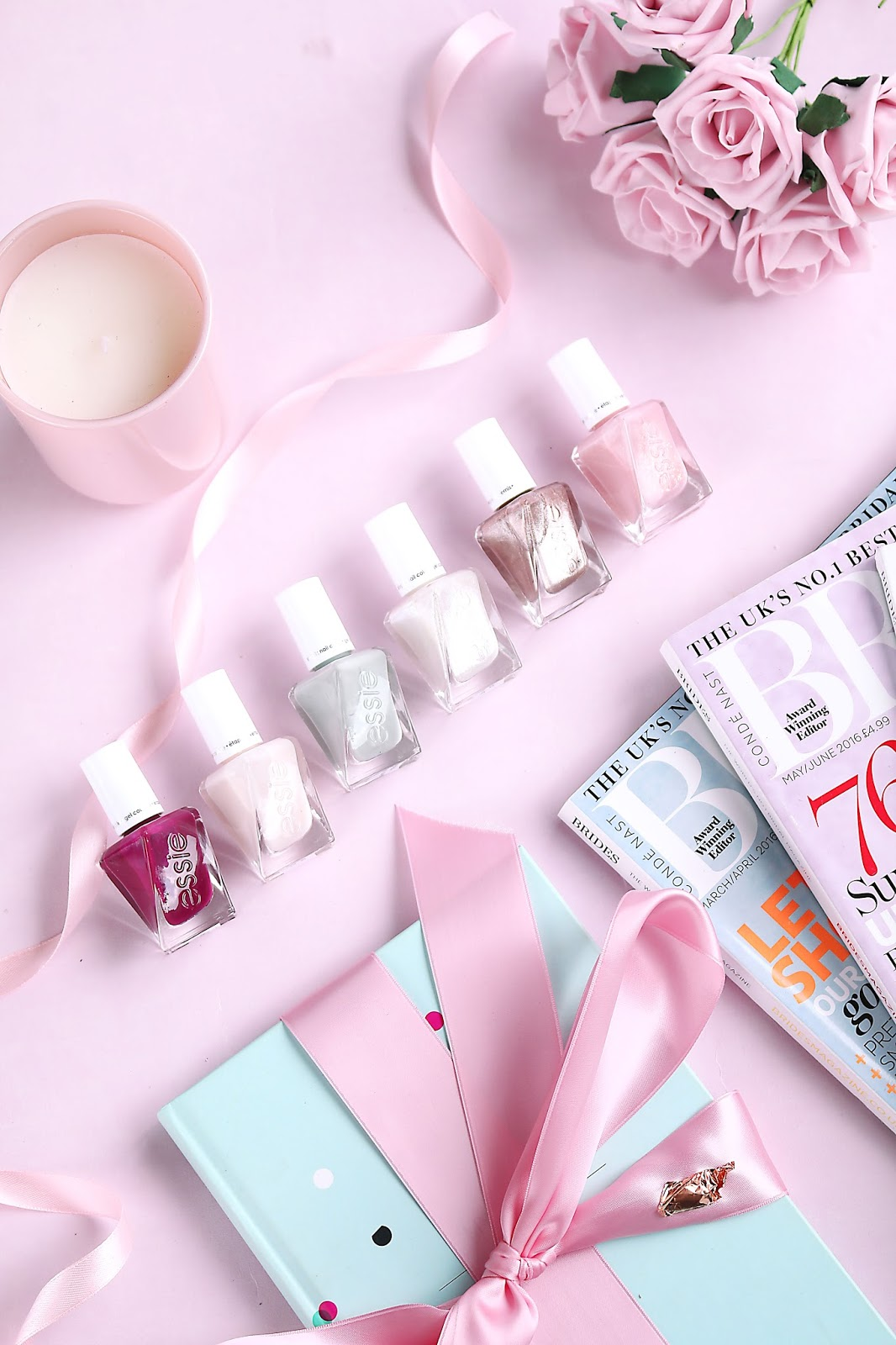 Beauty, Nails, essie, Wedding, Wedding Beauty, Drugstore,  essie gel couture bridal collection by Monique Lhuillier, essie gel couture range, wedding nails, bridal nails