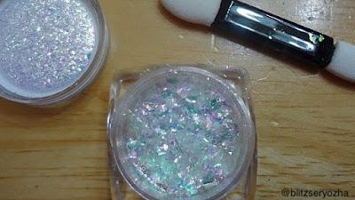 Beauty Bigbang, Iridescent Chameleon Flakes, J2443-9A