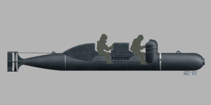 Torpedo manusia