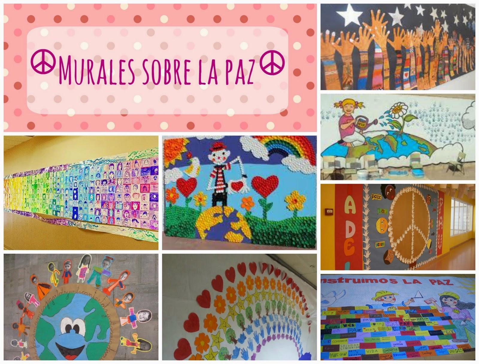 Recursos ideas y actividades de expresi n pl stica para for Murales para salones decoracion