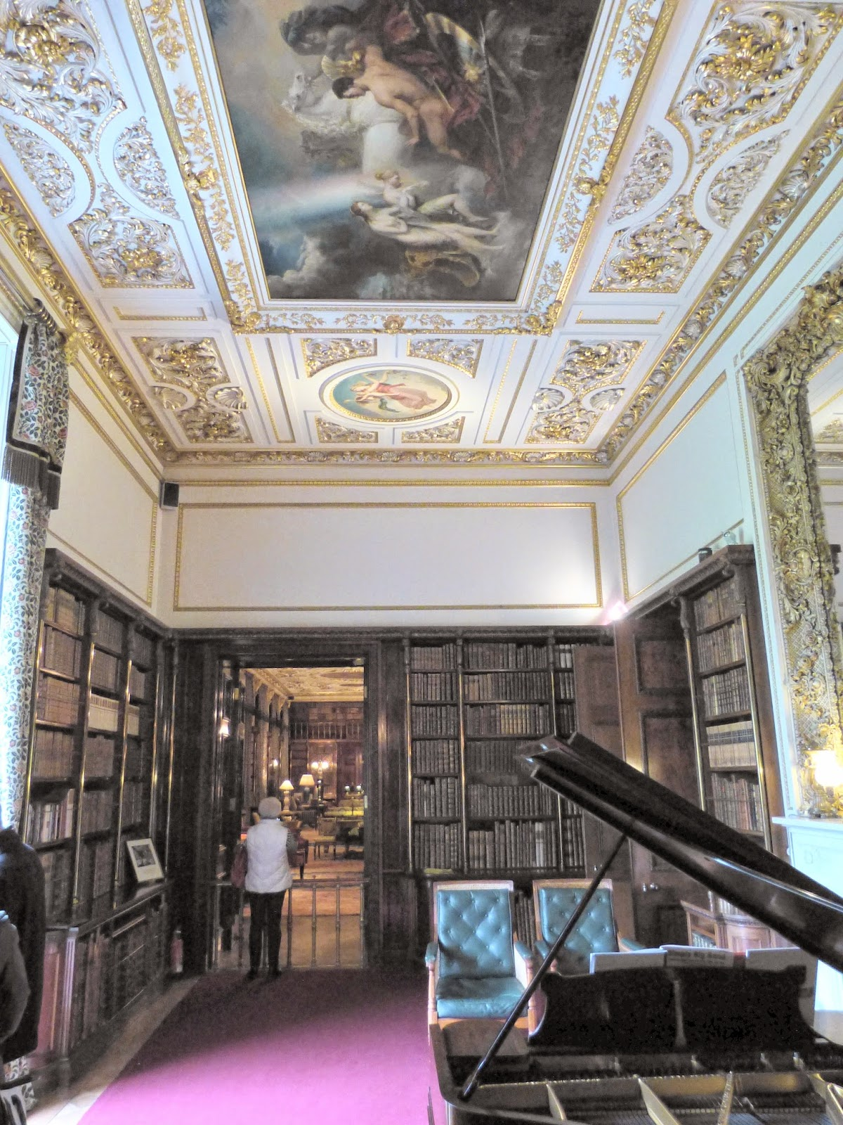 The Ante-Library, Chatsworth