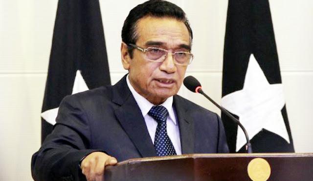 "Presidente de Timor defende aposta no mar como ""desígnio estratégico nacional"""