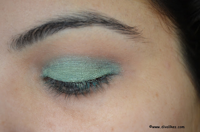 Oriflame Soft n Glam Duo Eyeshadow Deep Green