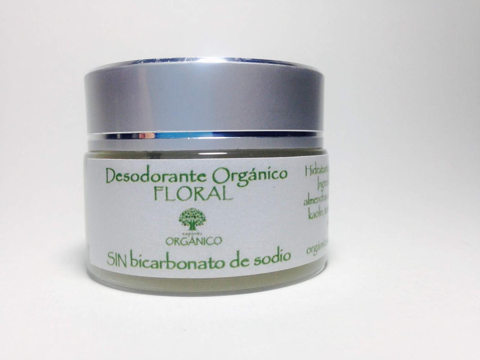Desodorante Orgánico Floral - SIN bicarbonato de sodio - $30.000