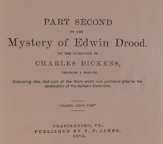 Attribution page for Edwin Drood Complete