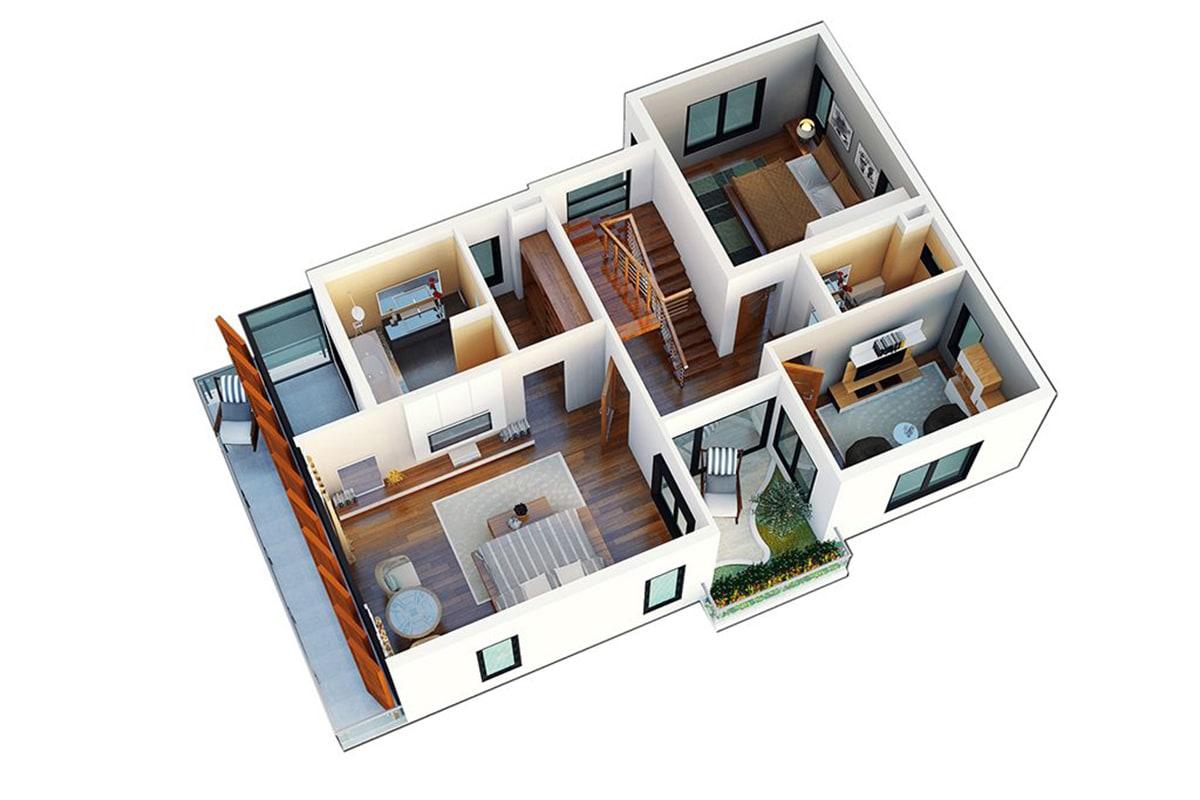 Mặt bằng tầng 2 Biệt thự Sao Biển FLC Sầm Sơn