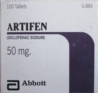 Artifen 50mg tablet