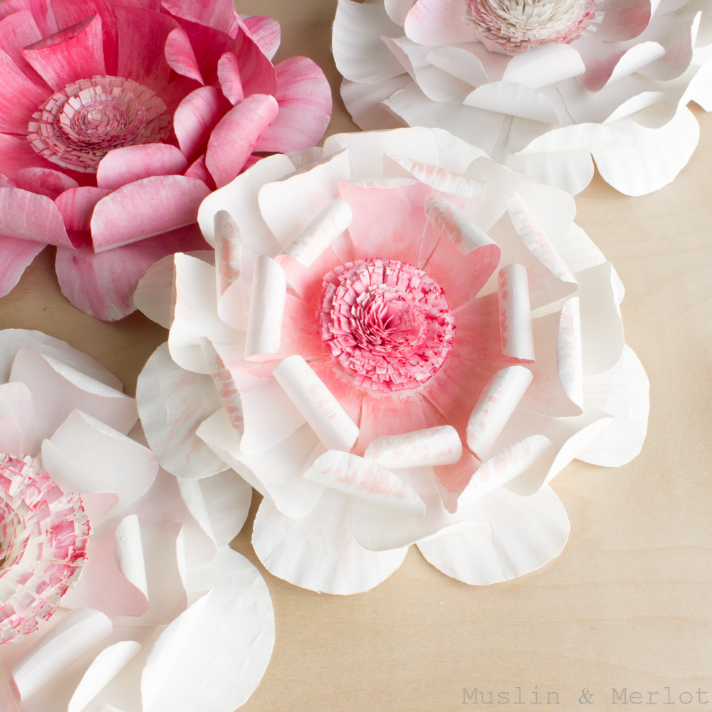 Making Paper Flowers With Cricut