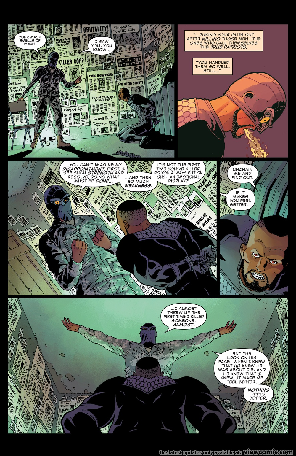 Nighthawk 005 (2016) .   Vietcomic.net reading comics online for free