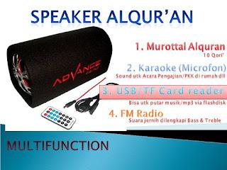 SPEAKER ALQURAN TIPE 2