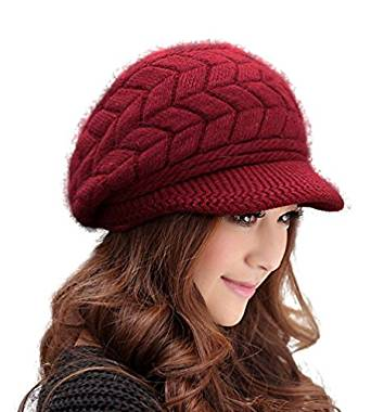 HINDAWI Women Winter Warm Knit Hat