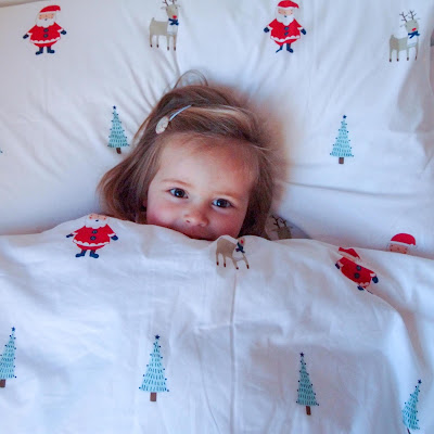 Gorgeous Children's Christmas Duvet Set from Great Little Trading Co